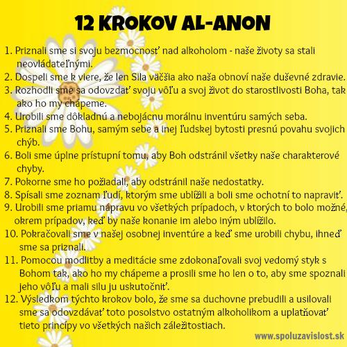 12 krokov Al-Anon