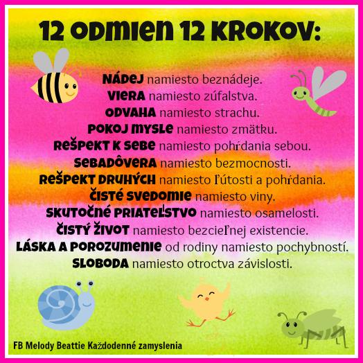 12 odmien