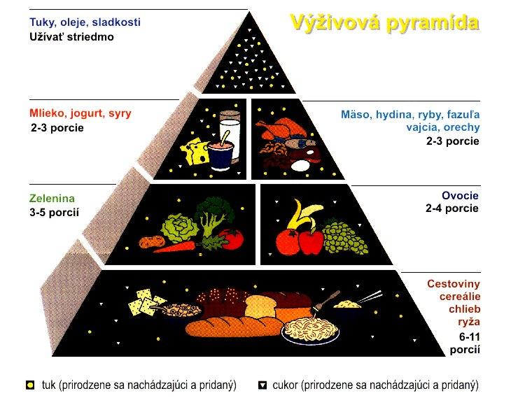 výživová pyramída